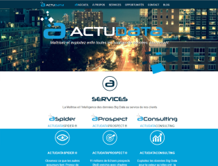ActuData - Home page